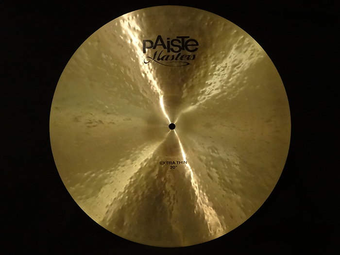 "【中古品】廃盤機種 Masters 20"" Extra Thin Crash 1591g"