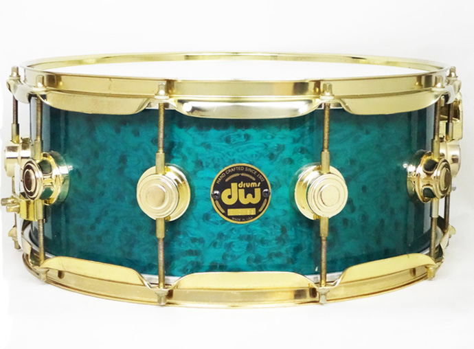【中古品】CL1406SD Collectors Maple/Turquoise Lacquer Over Birdseye Maple