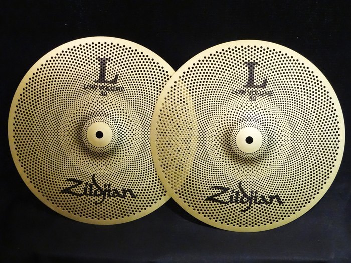 "【中古品 】L80 Low Volume 13"" HiHats Pair NAZLLV8013HP"