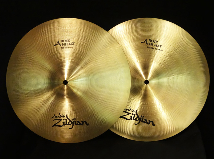 【USED】2002' A Rock Hihats 1,188g/1,445g