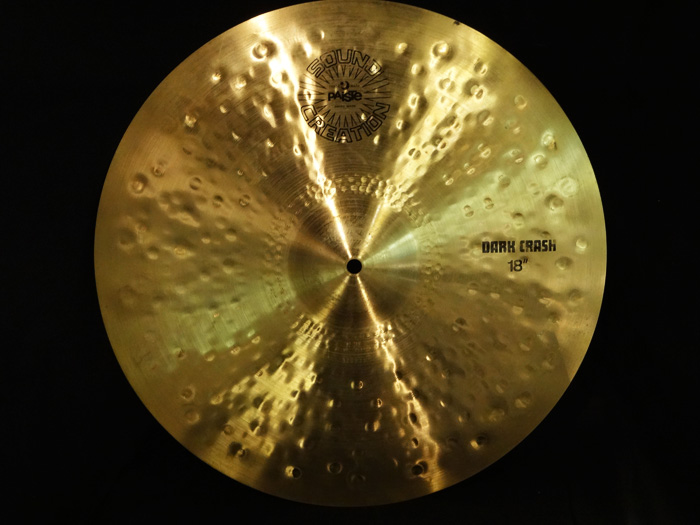 "【VINTAGE】 Sound Creation 18"" Dark Crash"