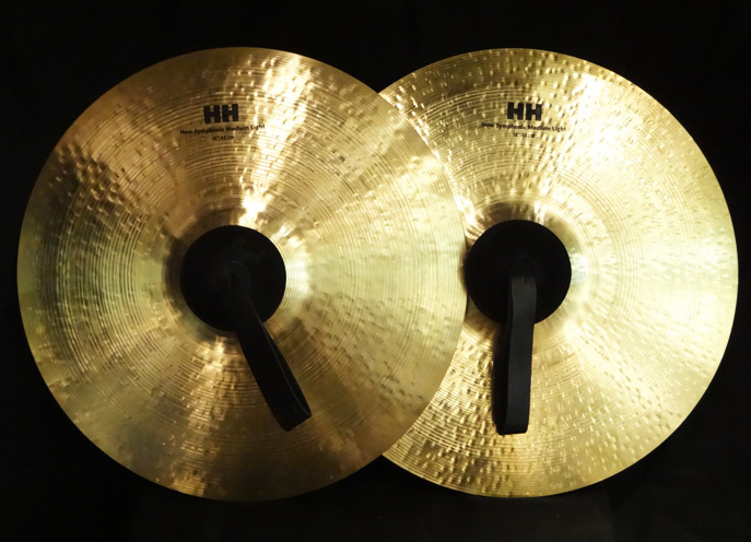 "【USED】HH 18"" New Symphonic Medium Light ペア"