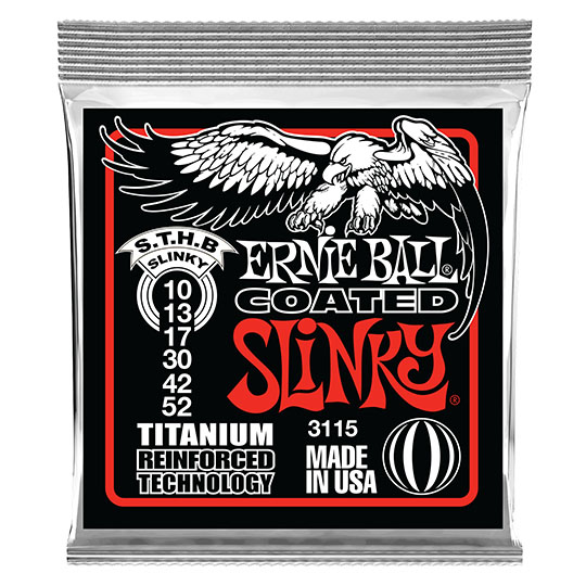 ERNIE BALL Coated Skinny Top Heavy Bottom 3115(10-52) アーニーボール