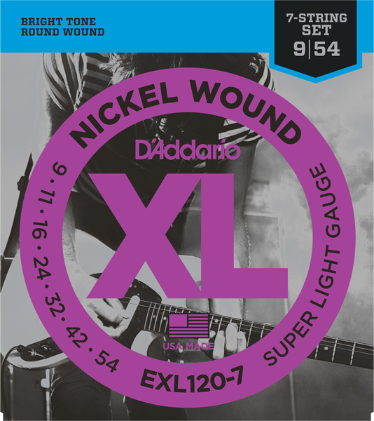 EXL120-7 [Nickel Wound 7弦 09-54]