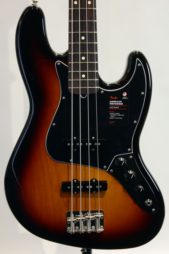AMERICAN PERFORMER JAZZ BASS (3-Color Sunburst)