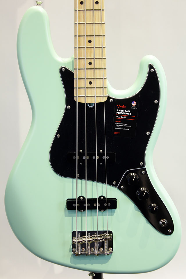 AMERICAN PERFORMER JAZZ BASS (Satin Surf Green)