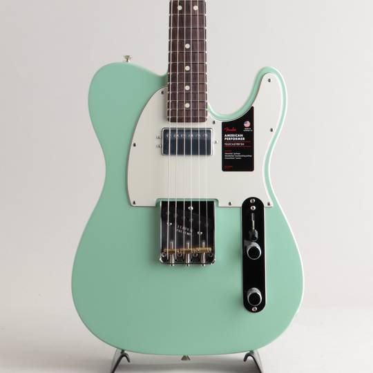 American Performer Telecaster Hum/Satin Surf Green/R【S/N:US20038354】