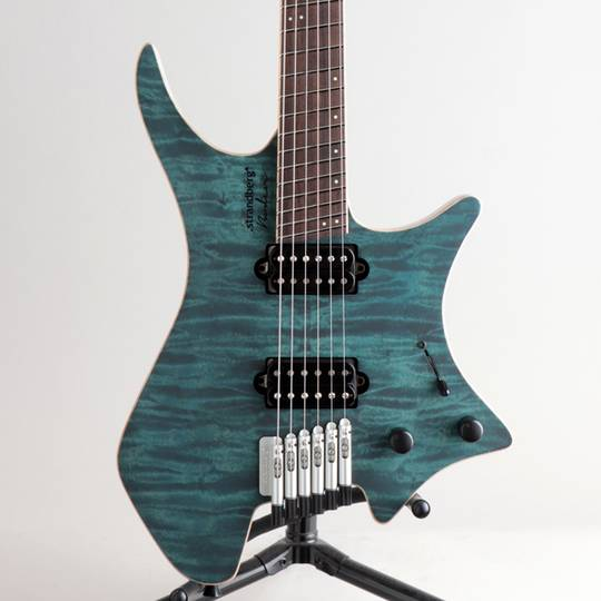 Boden J6 Custom 6A Quilted Maple Grey Blue/NMF