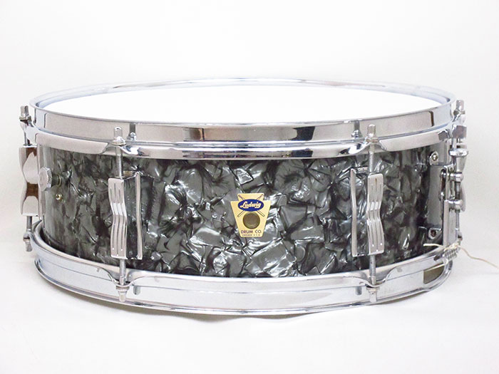"【VINTAGE】1959' Pioneer Black Diamond Pearl 14""×5.5""COB Hoops / Transition Badge"