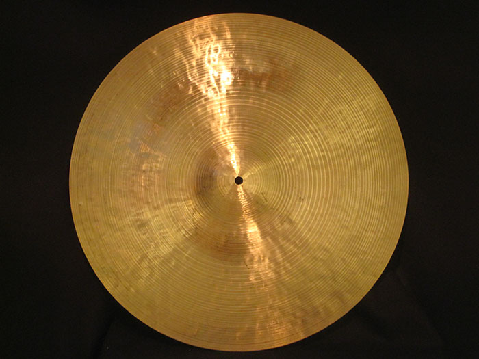 "【VINTAGE】1967-77' K Zildjian Istanbul 20"" Medium Thin Ride New Stamp 1,931g"