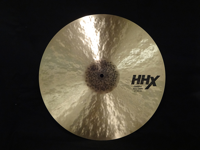 "HHXシリーズ 17"" COMPLEX THIN CRASH HHX-17CTC"