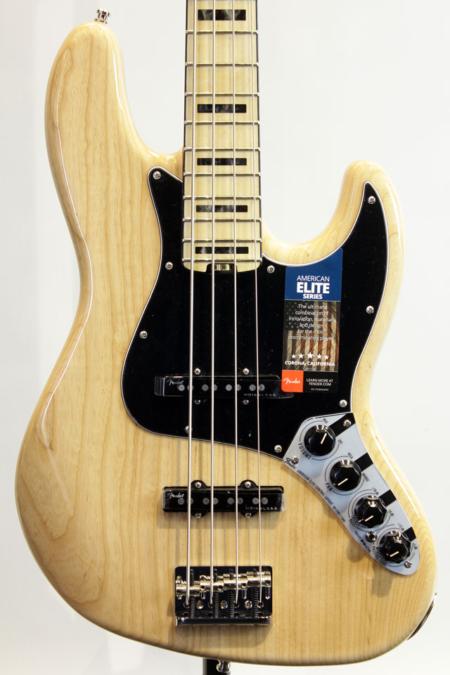 2017 AMERICAN ELITE JAZZ BASS ASH NAT/M