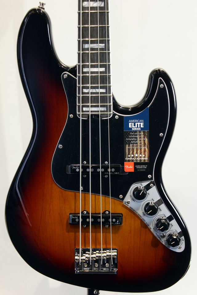 AMERICAN ELITE JAZZ BASS 3TSB/E