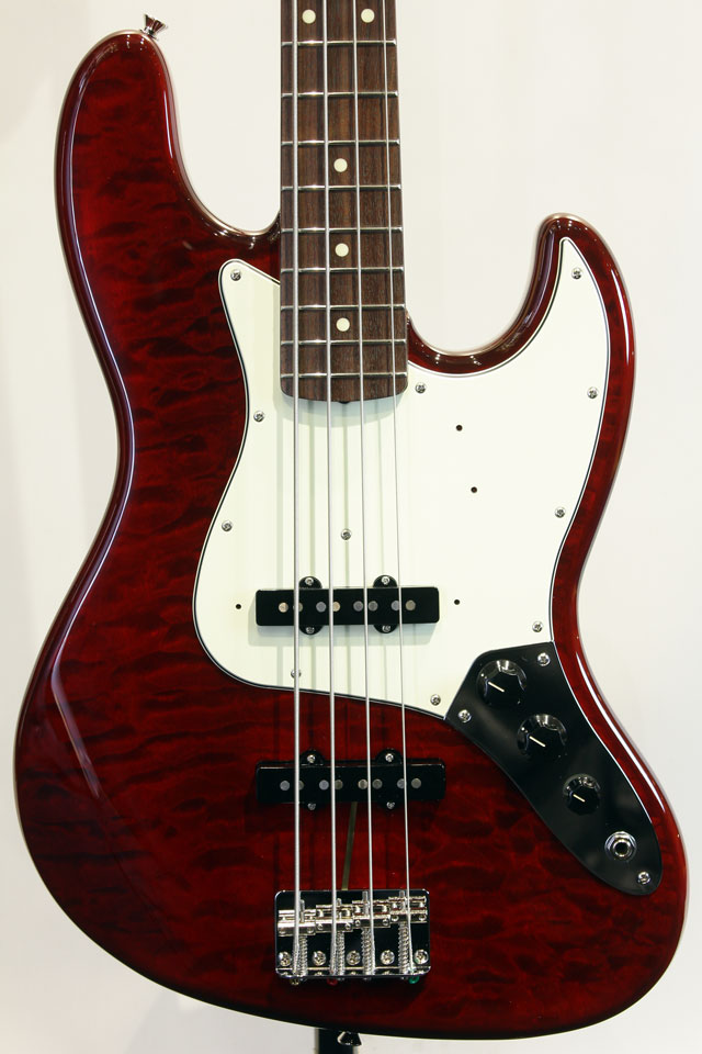 Made in Japan  FSR Hybrid 60s Jazz Bass Quilt Top