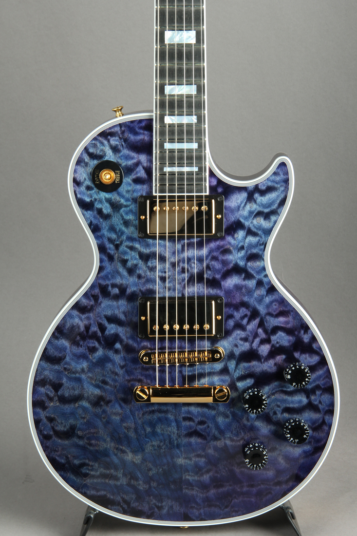 "Les Paul Custom / Nordic Blue ""Hand Selected 3A QT"