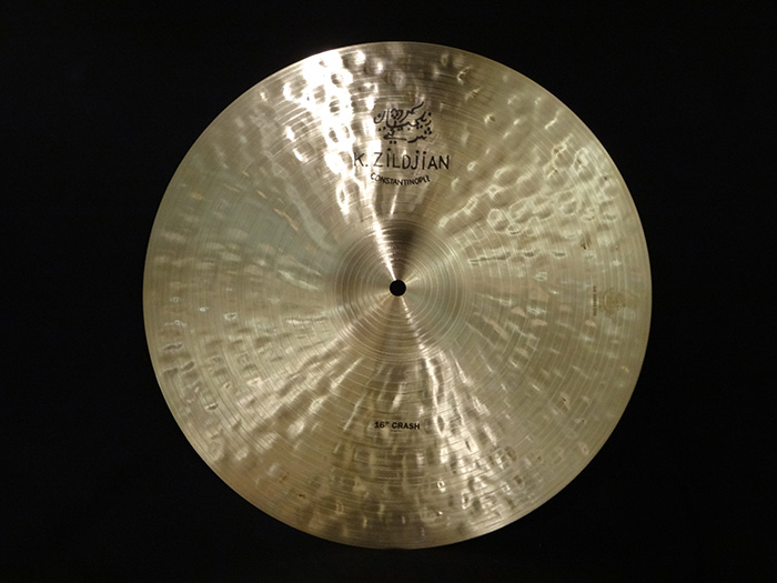 "【中古品】K CONSTANTINOPLE 16"" CRASH 1034g"