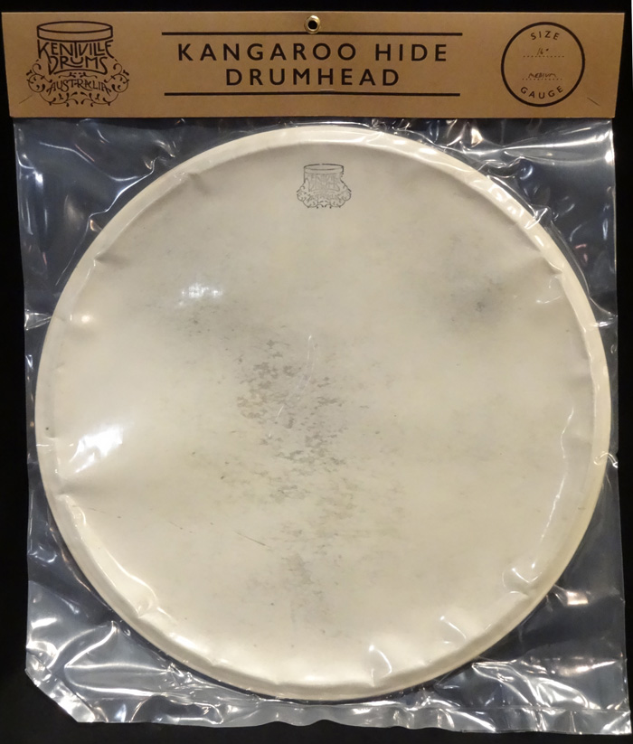 "Kangaroo Hide Drum Head 16"" Medium Gauge (10-12mils)"
