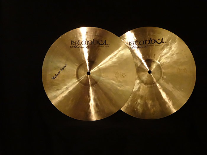 "Mehmet Legend 14"" Hi-hats Pair"
