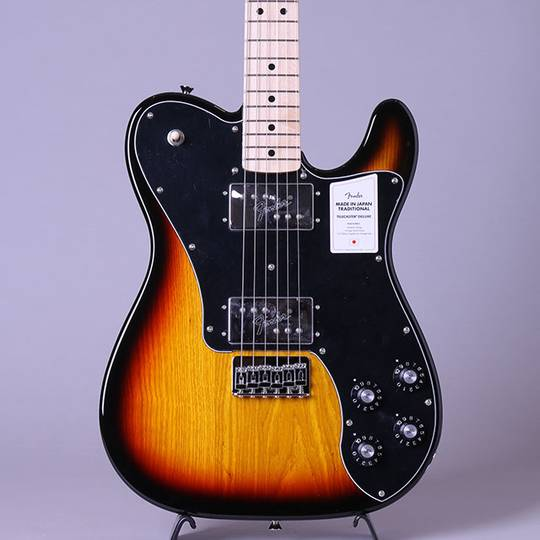 Made in Japan Traditional 70s Telecaster Deluxe/3-Color Sunburst/M