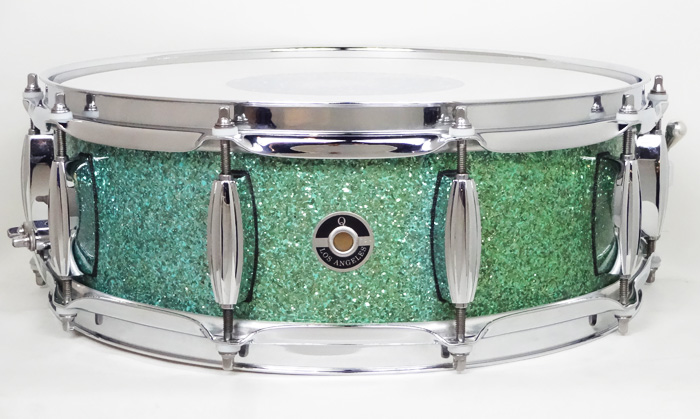 "Maple 10ply 14""x5.5"" Turquoise Sparkle M10-1455 TS"
