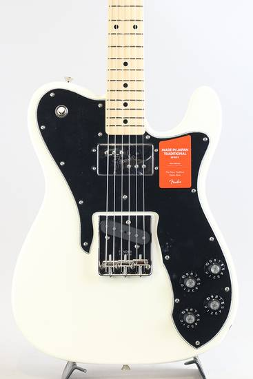 Made In Japan Traditional 70s Telecaster Custom/Arktic White【S/N:JD17045302】