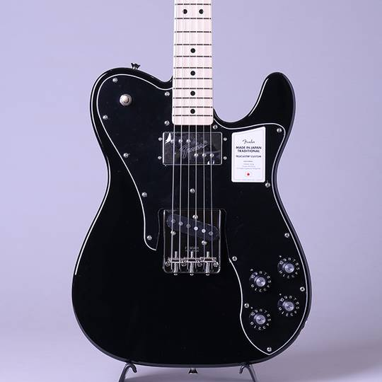 Made in Japan Traditional 70s Telecaster Custom/Black/M