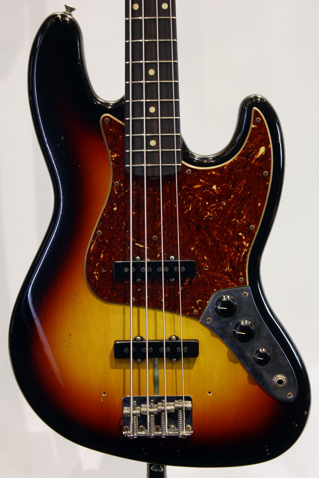 MBS 1962 Jazz Bass Journeyman Relic by Jason Smith 3TS