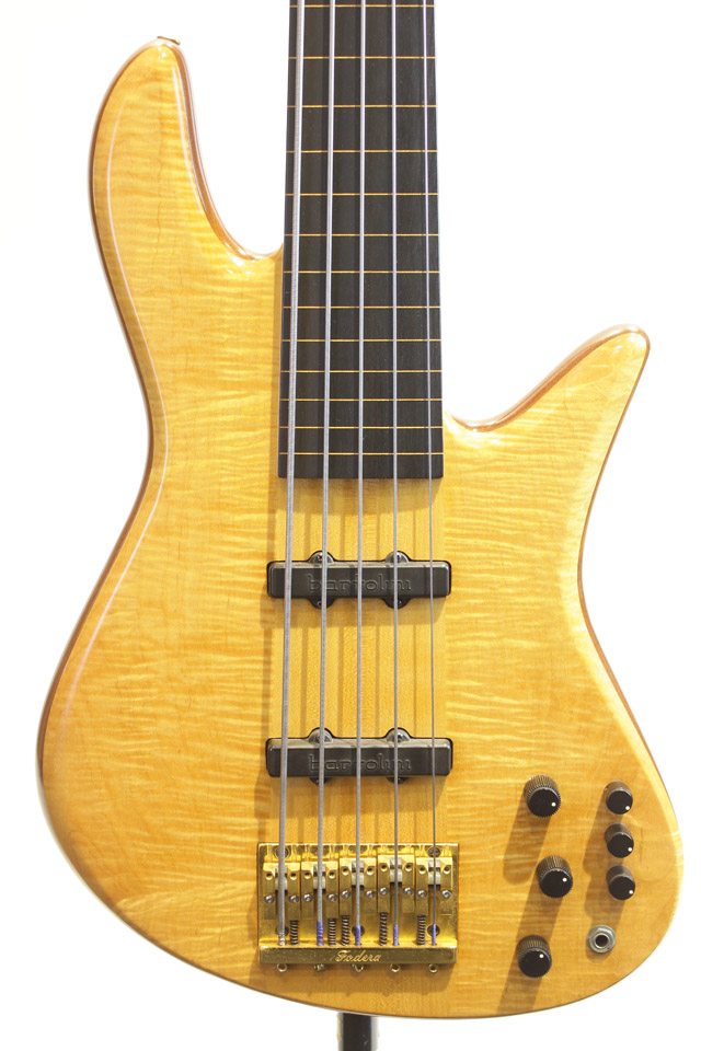 Emperor Elite Fretless 5st / with R.M.C Piezo Pickup