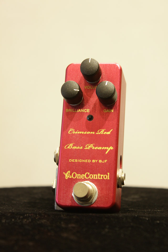 Crimson Red Bass Preamp