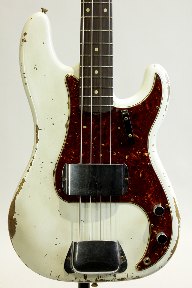 MBS 1964 Precision Bass Olympic White Heavy Relic by Jason Smith【ローン無金利】【送料無料】