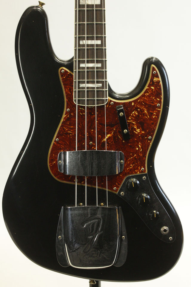 2020 Collection Cusrom Build 66 Jazz Bass Black JRN