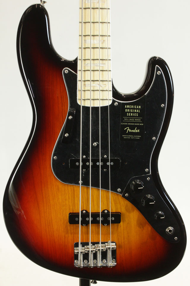 American Original 70s Jazz Bass (3TS)