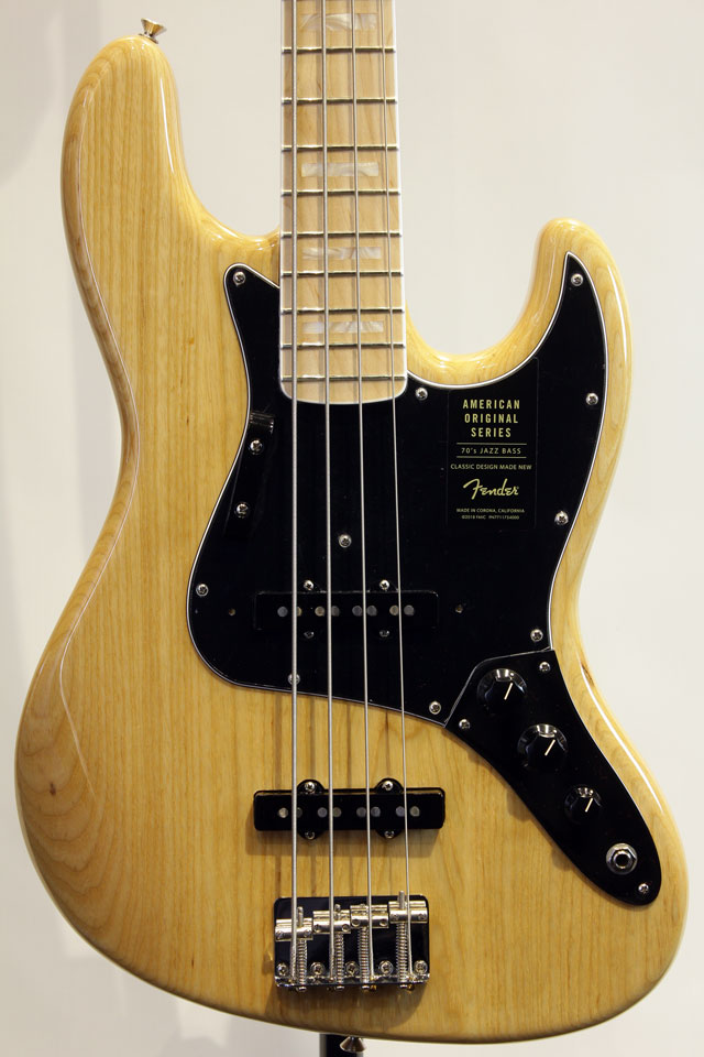 American Original 70s Jazz Bass (NAT)