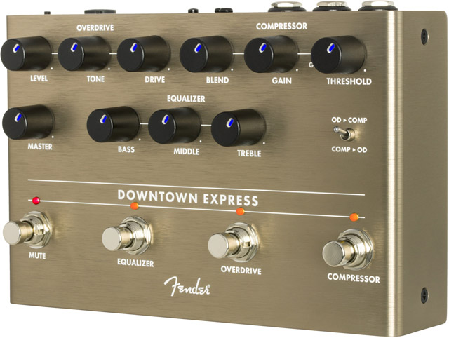 DOWNTOWN EXPRESS BASS MULTI-EFFECT