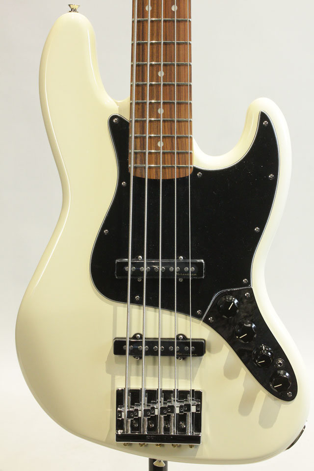 FENDER/MEXICO Deluxe Active Jazz Bass V / PF (Olympic White) フェンダー/メキシコ