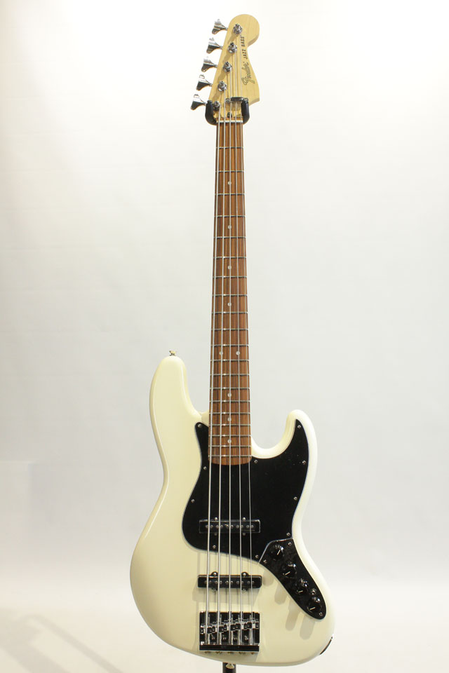 FENDER/MEXICO Deluxe Active Jazz Bass V / PF (Olympic White) フェンダー/メキシコ サブ画像2