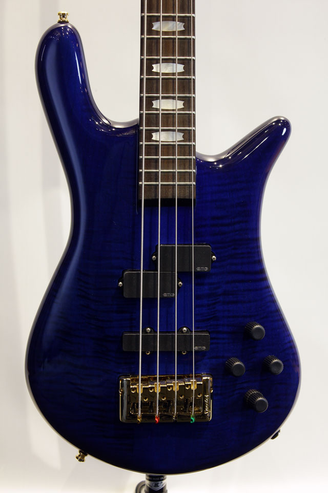 "EURO 4 LX Premium Wood ""Darkglass Preamp搭載"" (Blue-Black Stain Gloss)"
