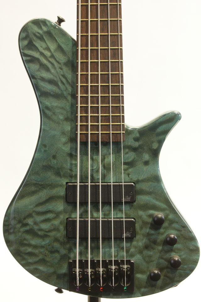 Elfin Bass 5st Figured Maple Top