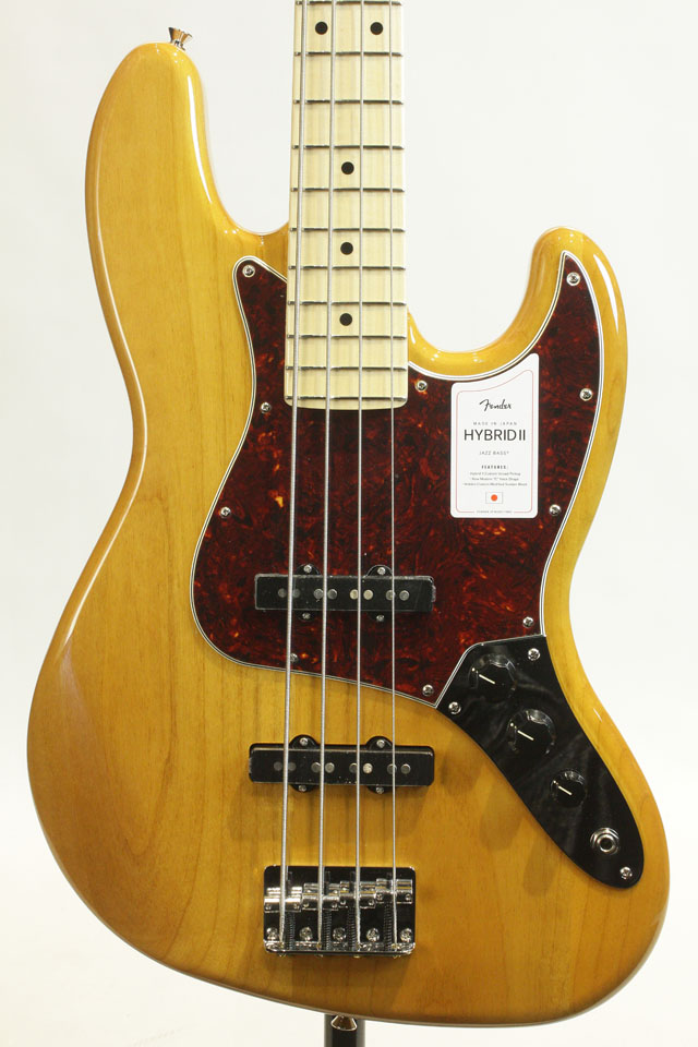 MADE IN JAPAN HYBRID II JAZZ BASS Vintage Natural / Maple