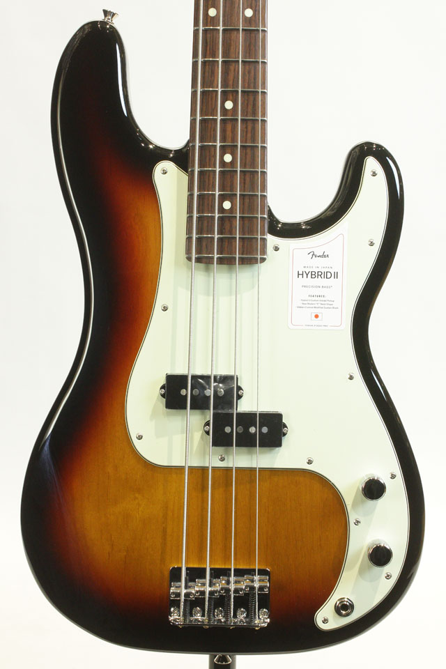 MADE IN JAPAN HYBRID II PRECISION BASS 3-Color Sunburst