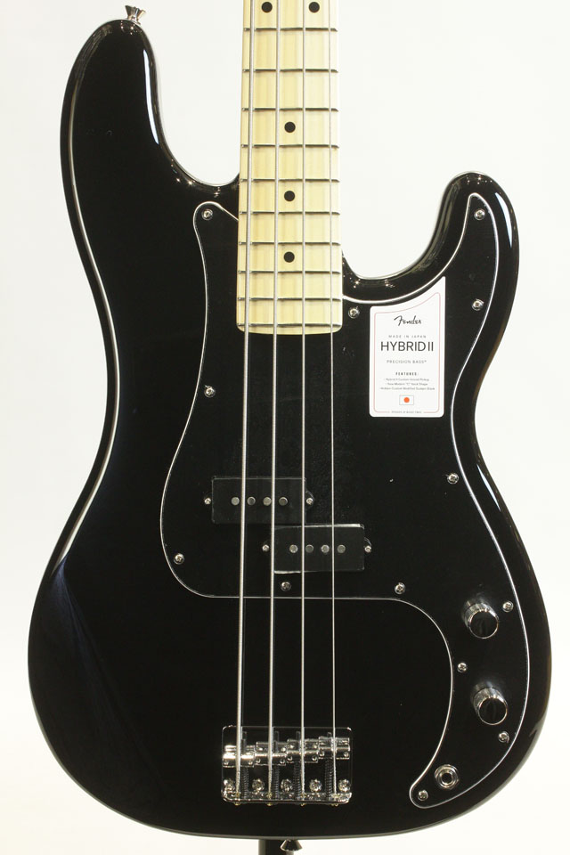MADE IN JAPAN HYBRID II PRECISION BASS  Black / Maple