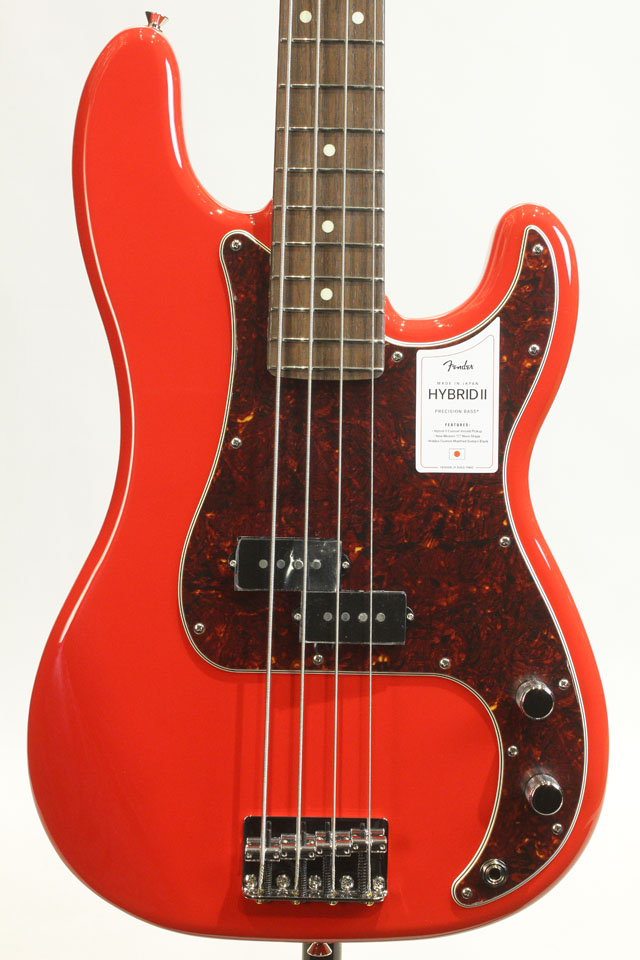 MADE IN JAPAN HYBRID II PRECISION BASS Modena Red