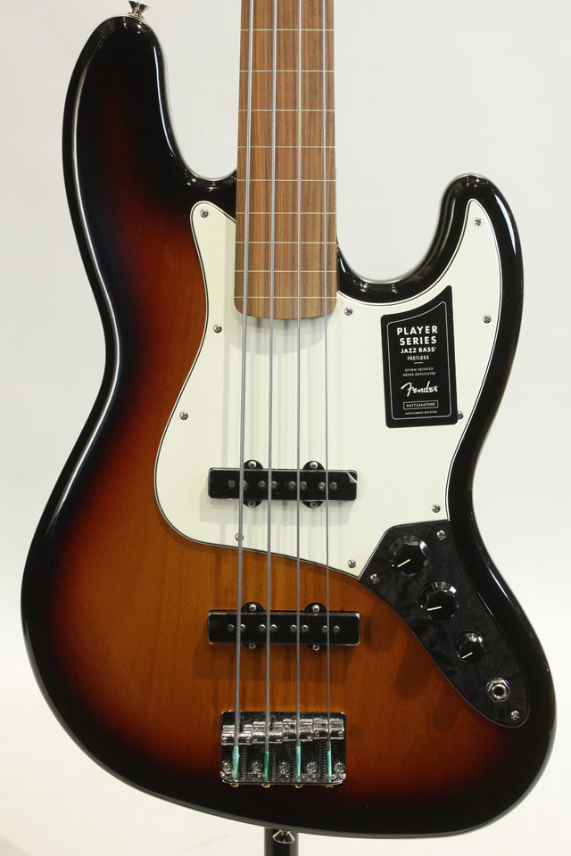 FENDER/MEXICO Player Jazz Bass Fretless / PF (3-Color Sunburst) フェンダー/メキシコ