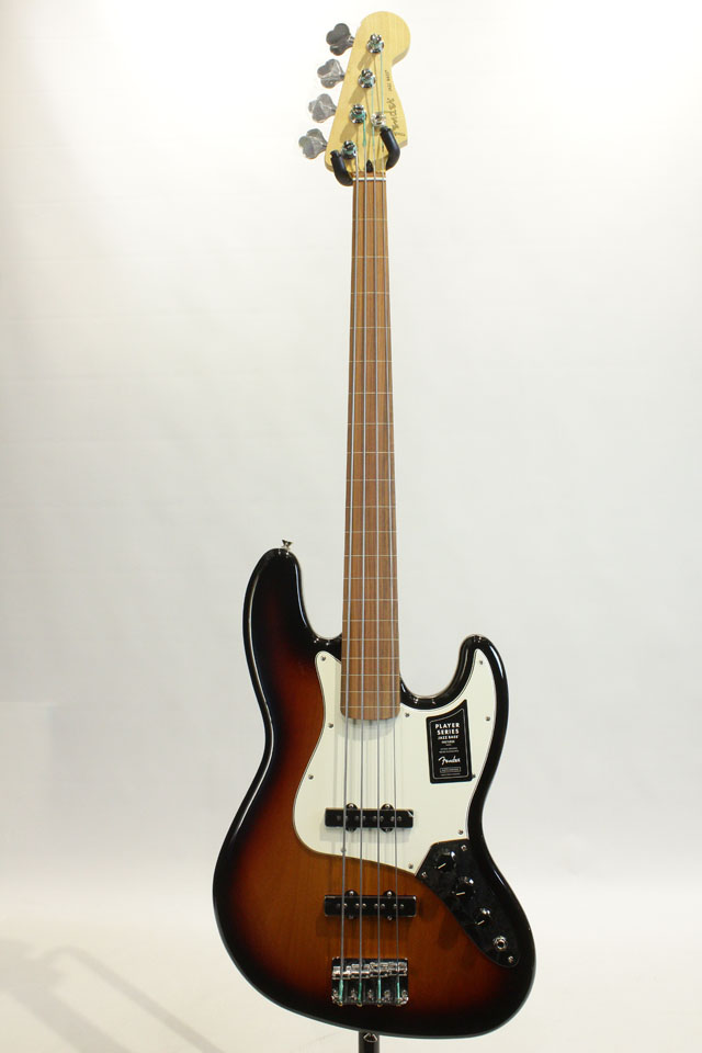 FENDER/MEXICO Player Jazz Bass Fretless / PF (3-Color Sunburst) フェンダー/メキシコ サブ画像2