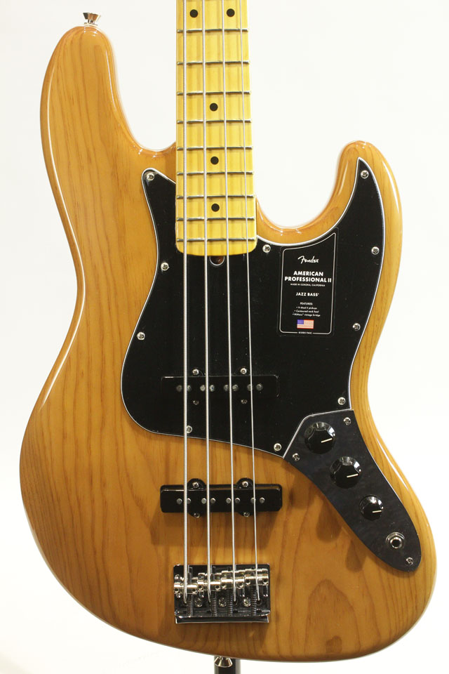 American Professional II Jazz Bass Roasted Pine / Maple