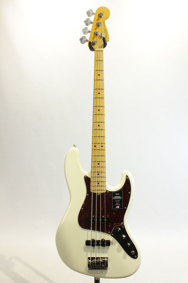 FENDER/USA  American Professional II Jazz Bass Olympic White / Maple フェンダー/ユーエスエー サブ画像2