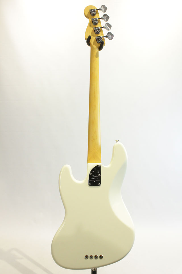 FENDER/USA  American Professional II Jazz Bass Olympic White / Maple フェンダー/ユーエスエー サブ画像3
