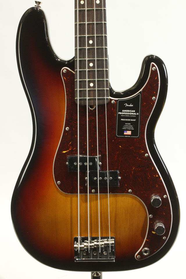 American Professional II Precision Bass 3-Color Sunburst / Rosewood