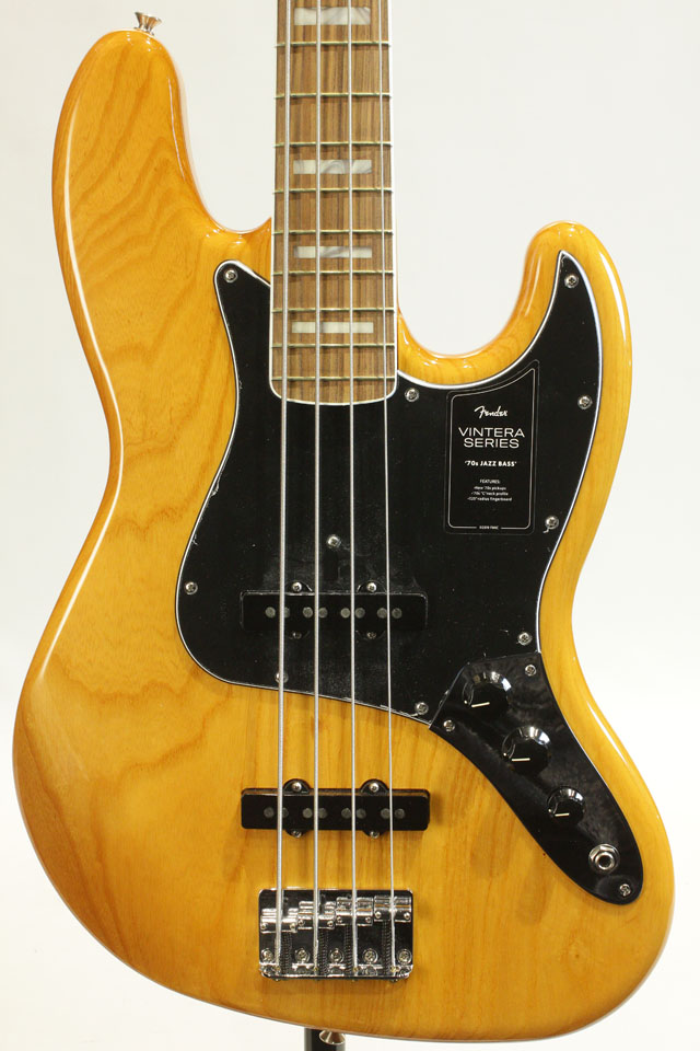 FENDER/MEXICO Vintera 70s Jazz Bass (Aged Natural/Pau Ferro) フェンダー/メキシコ
