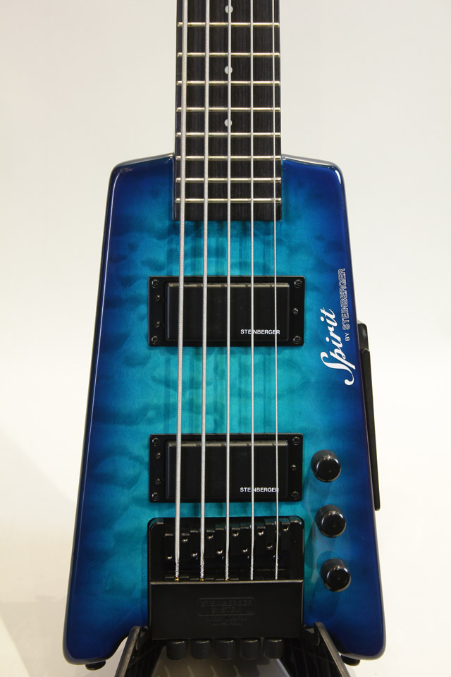 Spirit XT-25 Quilt Maple  Trans Blue